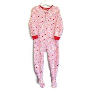 ⭐ OSHKOSH Fleece Footed Pajamas Christmas Sleeper